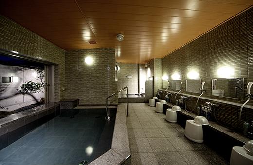 露天感覚の大浴場 足羽の湯